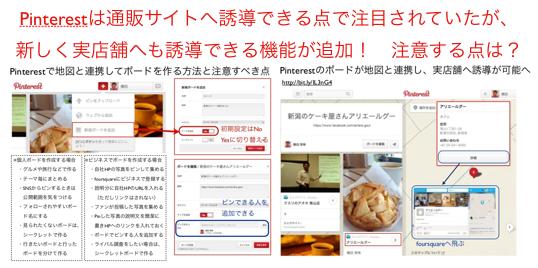 Pinterestがfoursquare地図と連携で実店舗誘導が可能へ https://yokotashurin.com/sns/pinterest-foursquare.html