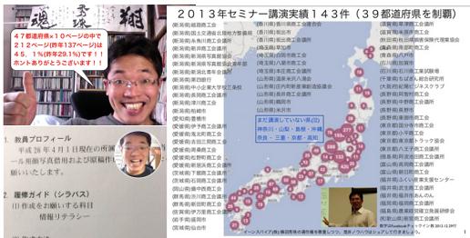 「Facebookセミナー 都道府県名」で全国を制覇したのか? https://yokotashurin.com/facebook/seminar2013.html
