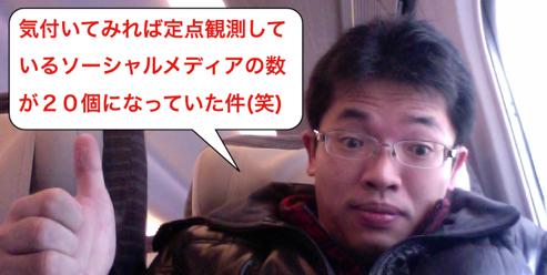 20大ソーシャルメディアのYahoo!カテゴリ登録数の推移 http://yokotashurin.com/sns/yahoo-sns2013.html
