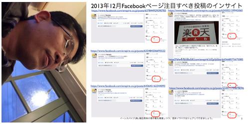 2013年12月度Facebookページ投稿いいね数ランキング20 http://yokotashurin.com/facebook/201312_page.html
