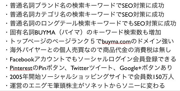 評判のBUYMA(バイマ)がブランド通販で注目のSEOとCtoC