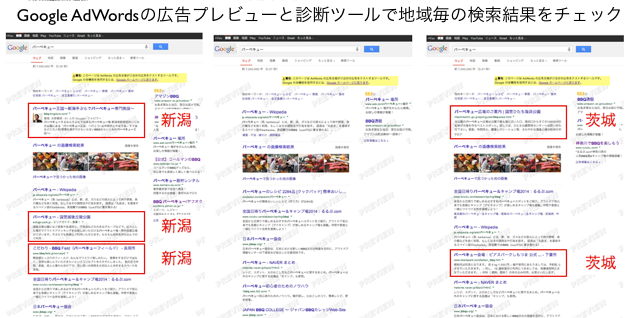 Google ChromeシークレットウィンドウSEO順位は不正確