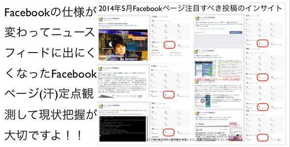 2014年5月度Facebookページ投稿いいね数ランキング20