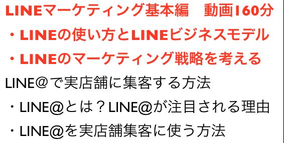 LINEがマーケティング手法で注目の理由セミナー動画160分