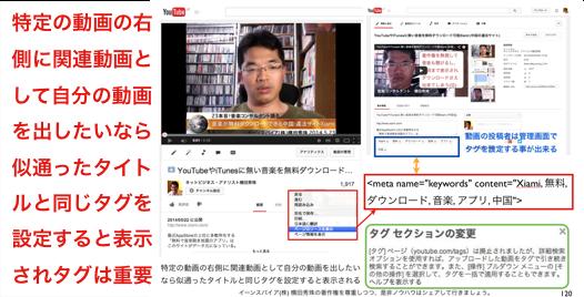 非表示になった他人のYouTube動画のタグを確認する方法