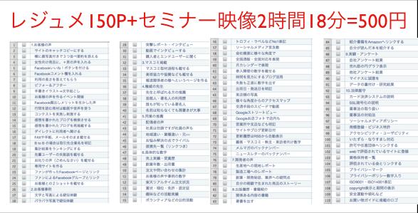 HP成約率(コンバージョン率)上げる100事例セミナー証拠編