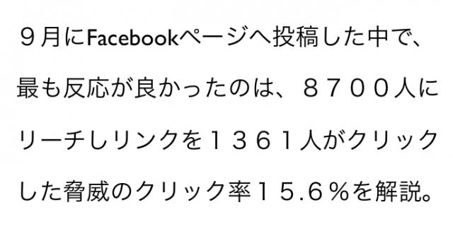 2014年9月度Facebookページ投稿いいね数ランキング20