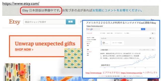 日本上陸間近Etsyとは?ハンドメイド手作りCtoC通販サイト