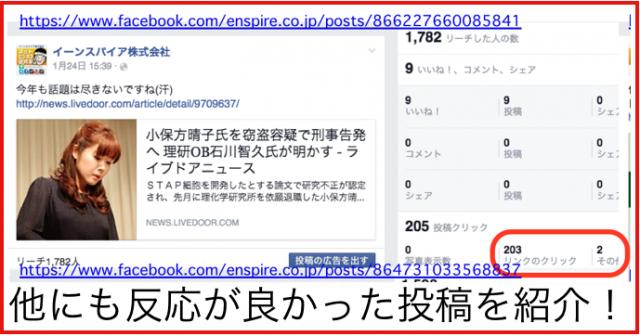 2015年1月度Facebookページ投稿いいね数ランキング20