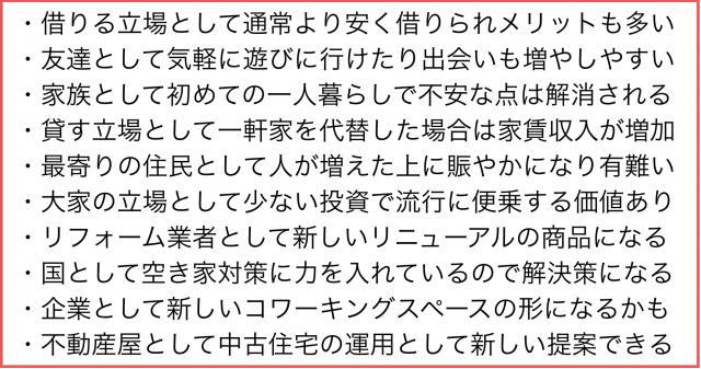 新潟市(特に西区)でシェアハウスが普及し始めた理由を考察