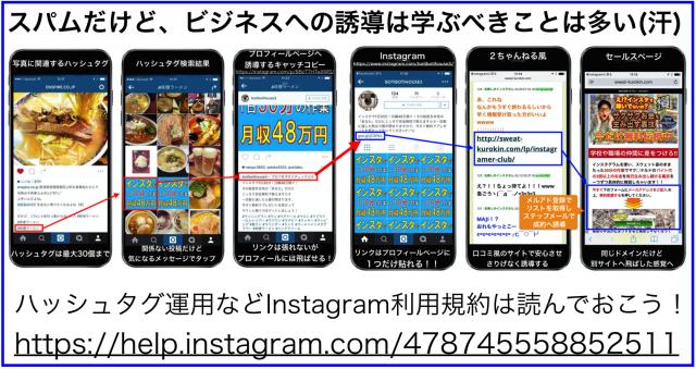 Instagramのスパム投稿から学ぶビジネス活用とスパム対策