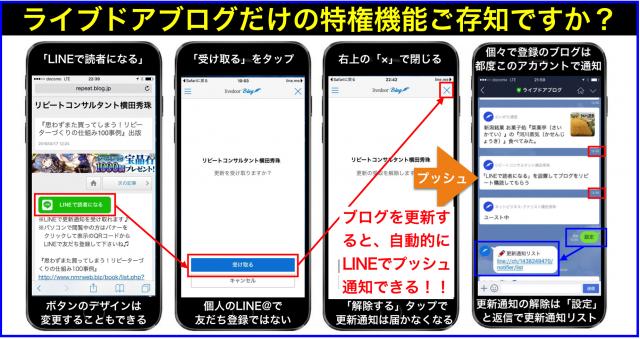 「LINEで読者になる」ボタン設置でブログを購読させる方法