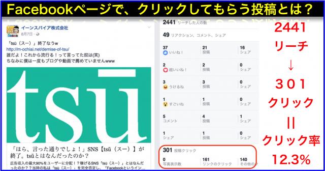 2016年8月Facebookページ投稿クリック数ランキング20
