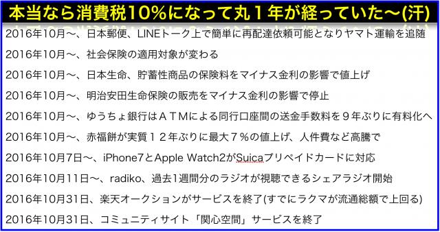 2016年(平成28年)10月から変わること:radikoシェアラジオ