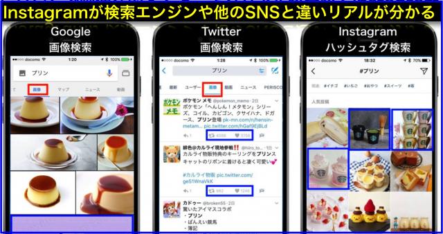 GoogleやTwitterより今の流行が分かるInstagram画像検索