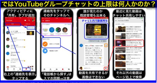 数人で動画共有できるYouTubeグループチャット機能を追加