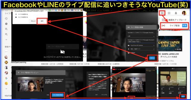 ようやくYouTubeライブはPCブラウザで簡単に配信が可能へ