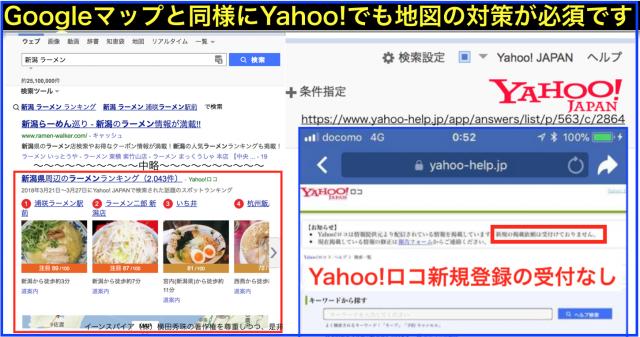 Yahoo!ロコを最適化したYahoo!検索の地図によるSEO対策
