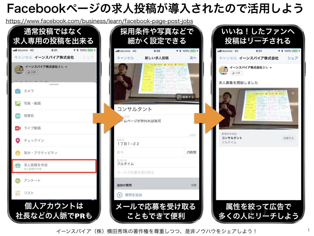 Facebookユーザー属性に合わせた求人投稿のポイントとは?
