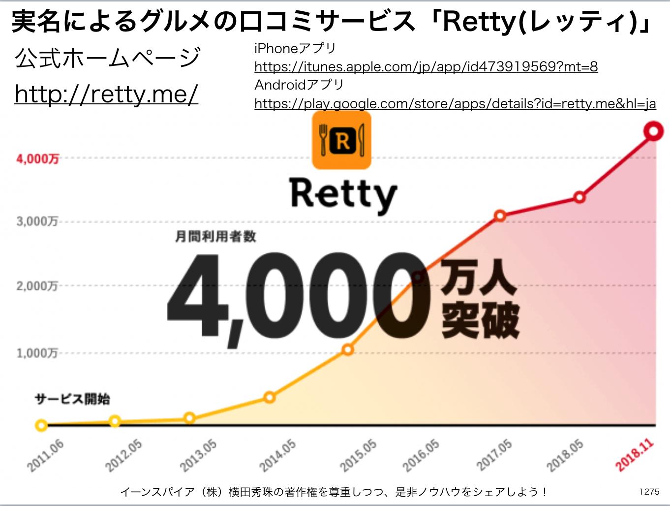 #Retty #レッティ に関するニュースや記事まとめ(随時更新)