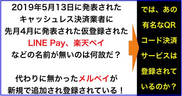 キャッシュレス・消費者還元事業 登録決済事業者リスト58社