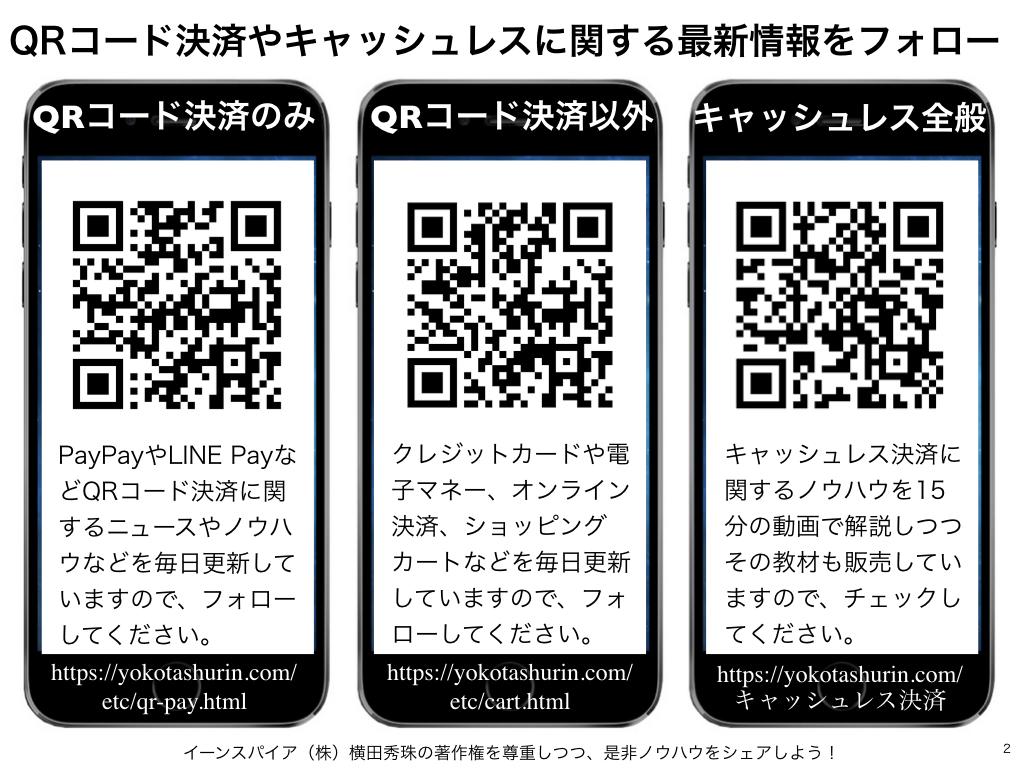 キャッシュレス・ポイント還元事業 登録決済事業者リスト