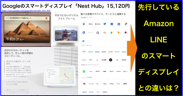 Googleスマートディスプレイ「Nest Hub」レビュー・長所短所