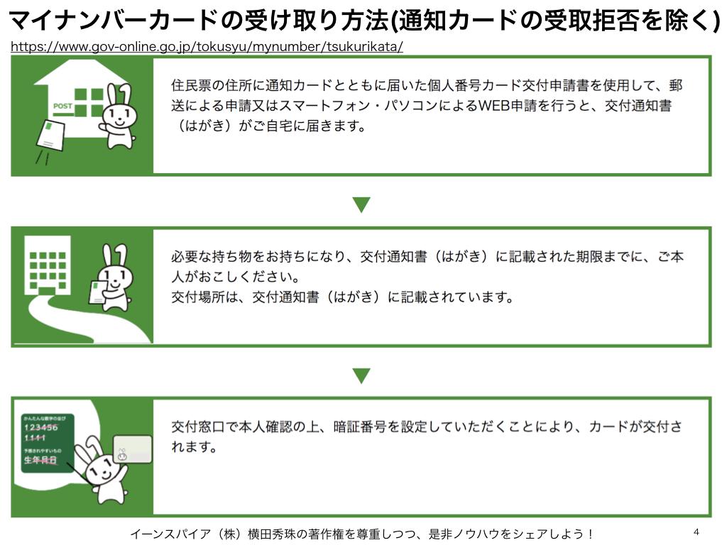マイナンバーカード申請4種類⇒写真撮影しやすいスマホ簡単