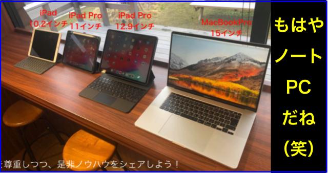 iPad ProとMagic Keyboard(マジックキーボード)をレビュー