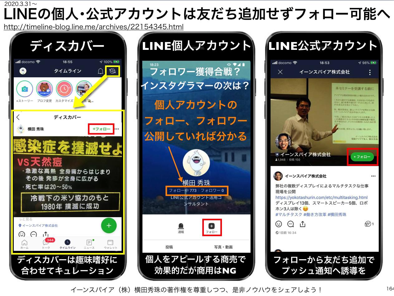 LINEの個人・公式アカウントは友だち追加せずフォロー可能へ