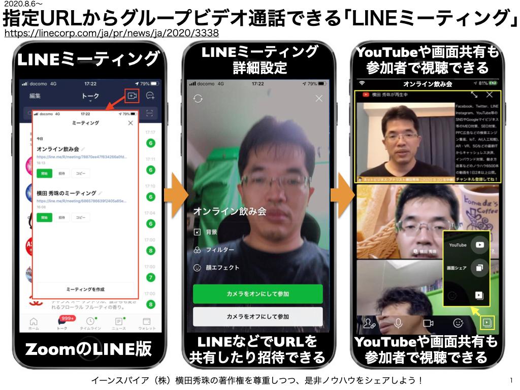 グループ 通話 line