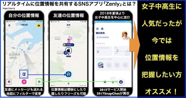 #Zenly #ゼンリー に関するニュースや記事まとめ(随時更新)