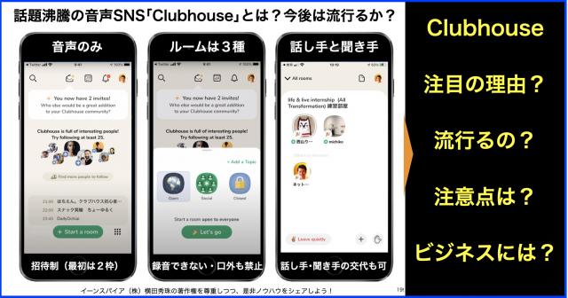 音声SNSアプリ #Clubhouse とは?招待して始め方・やり方