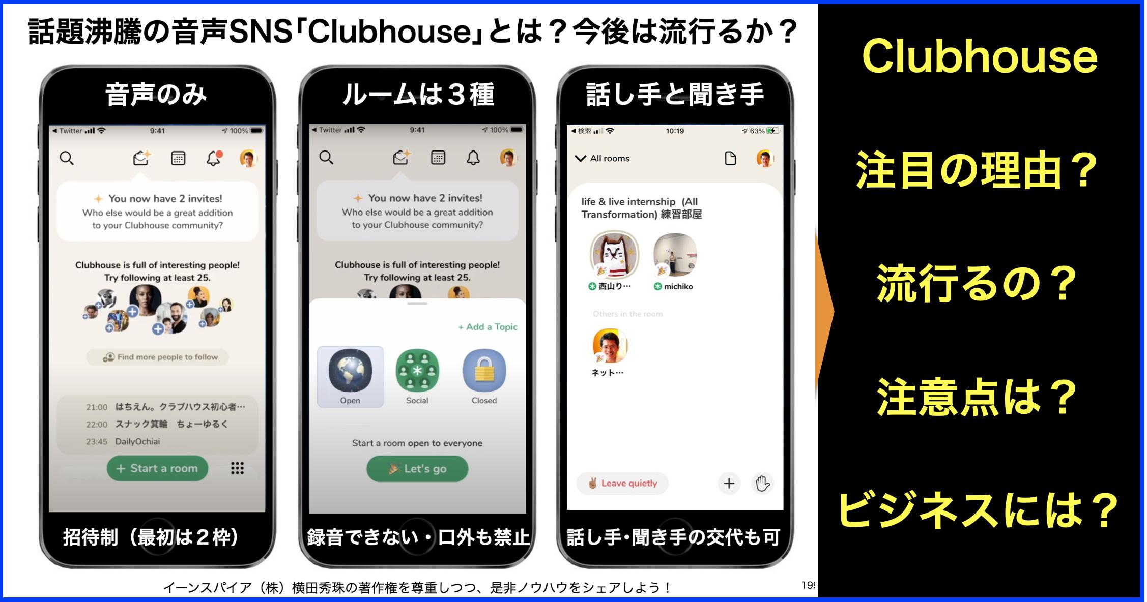 Clubhouse 始め 方 【Clubhouseの始め方】登録から招待方法まで使い方まとめ