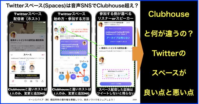 #Twitterスペース (Spaces)とは?Clubhouseとの違いは?
