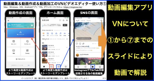 動画編集&動画作成&動画加工のVNビデオエディター使い方